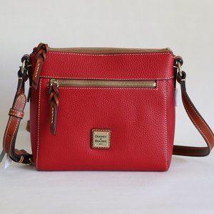 Dooney & Bourke Allison Leather Crossbody Bag Red
